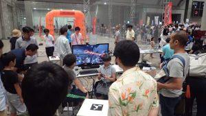 Virtual Drone at Maker Faire Tokyo 2016